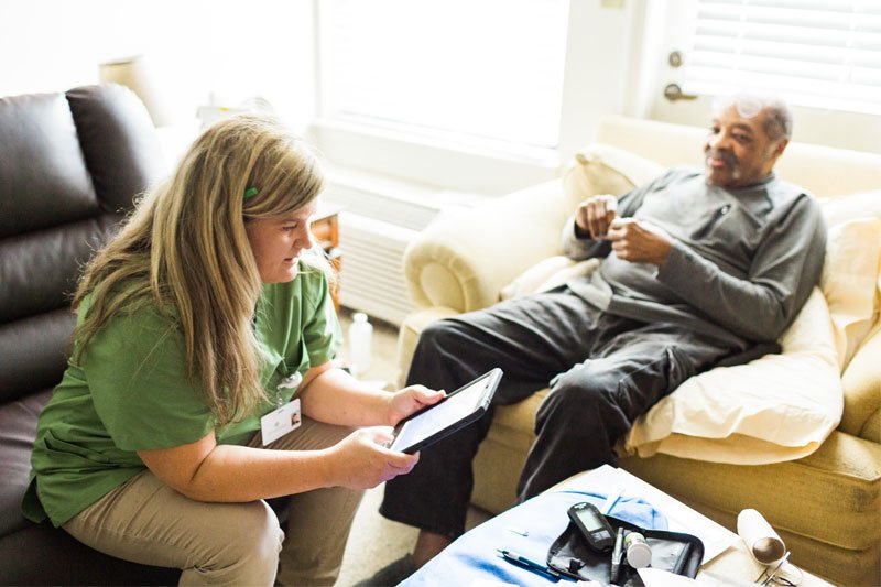 Patients Getting Home Health Benefit